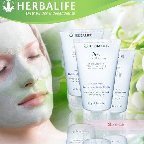 Mặt nạ bùn Herbalife – Sự kết hợp 3 vitamins A,C & E
