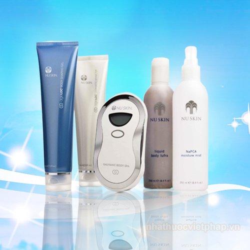 Nuskin body spa package – Bộ máy massager toàn thân