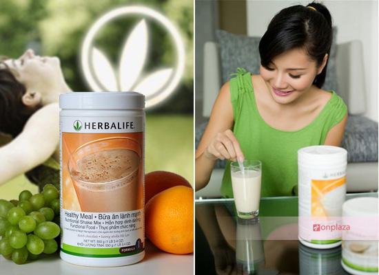 sữa herbalife, herbalife f1