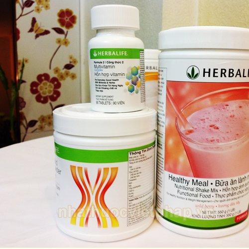 bộ 3 sản phẩm herbalife