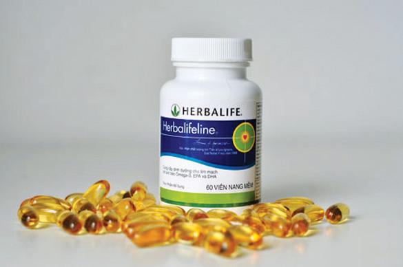 herbalifeline, herbalifeline omega, hon hop dau ca omega herbalife