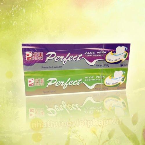 sản phẩm chữa hôi miệng perfect, kem đánh răng perfect