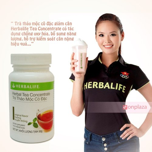 tra herbalife, tra thao moc giam can herbalife
