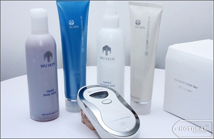 Nuskin body spa package