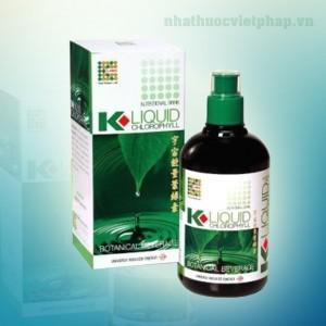 nuoc diep luc, nuoc diep luc K liquid Cholorophyll , nuoc diep luc mat gan