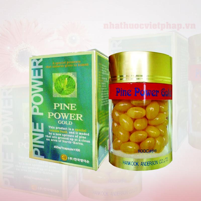 tinh dau thong do, tinh dau thong han quoc,pine power gold