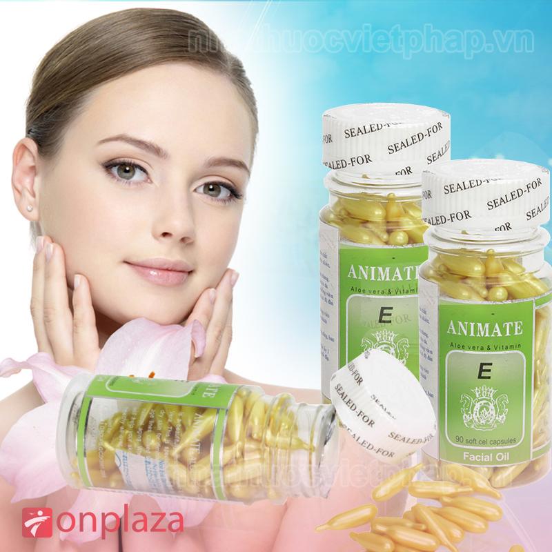 ANIMATE – Viên véo dưỡng ẩm trắng da ngăn ngừa nám tàn nhang