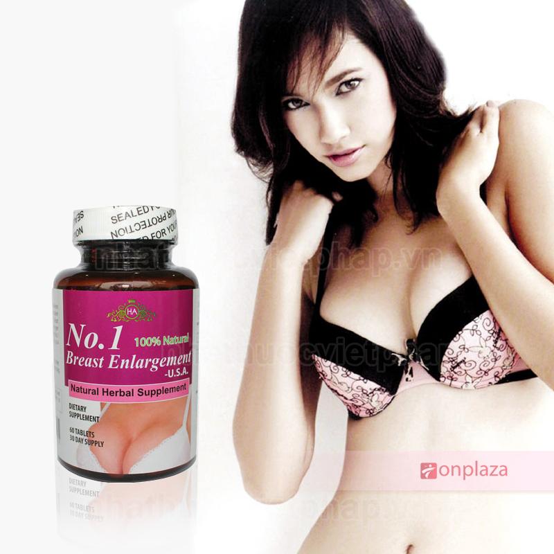 Thuốc Nở Ngực No.1 Breast Enlargement USA dạng viên