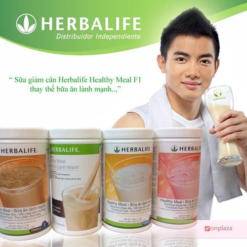 sua giảm can herbalife f1