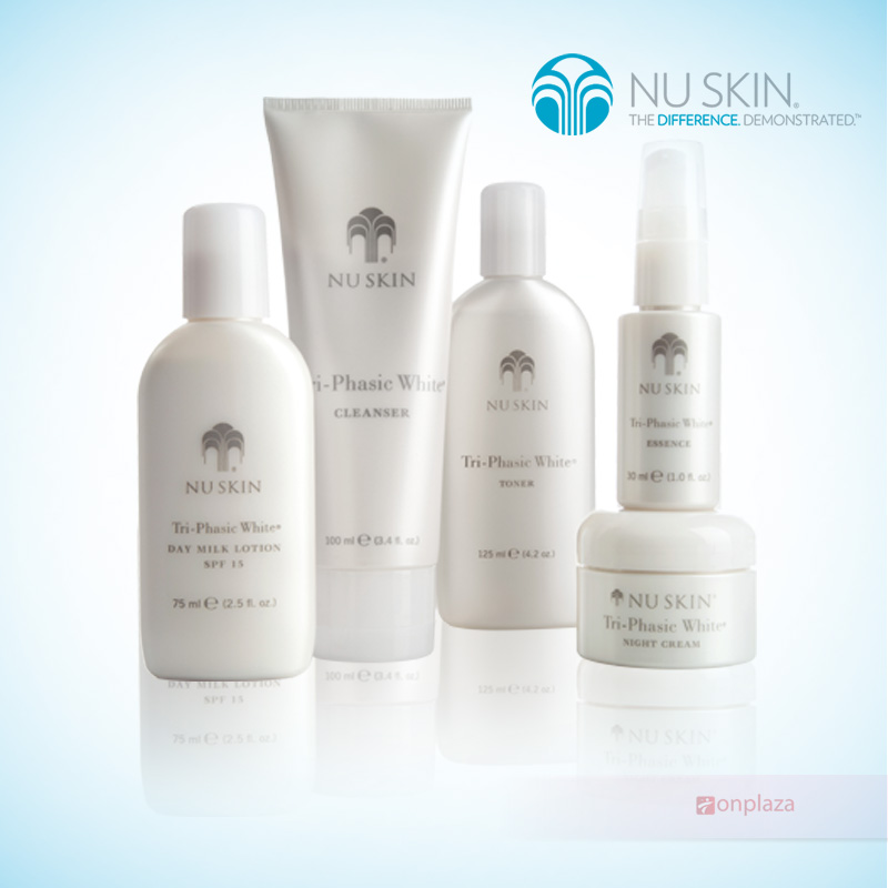 bo my pham nuskin, Nuskin Tri Phasic White Systems