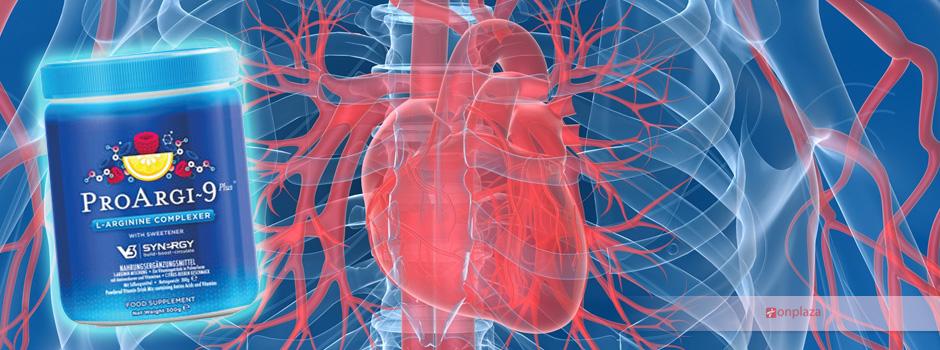 pro argi 9 plus, hỗ trợ tim mạch