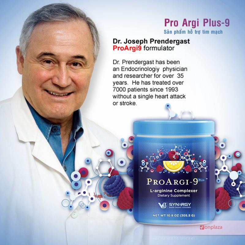 Sản phẩm hỗ trợ tim mạch Pro Argi 9 Plus