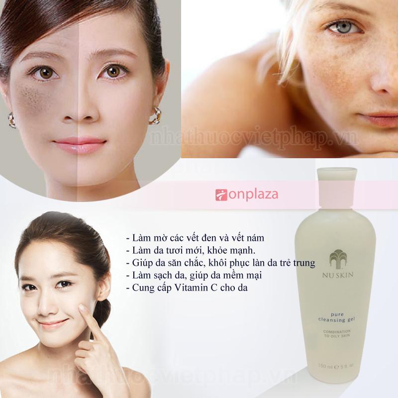 Sữa rửa mặt Nuskin face wash trẻ hoá da, giảm nếp nhăn