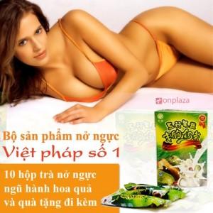 bộ sản phẩm nở ngực, thuốc nở ngực
