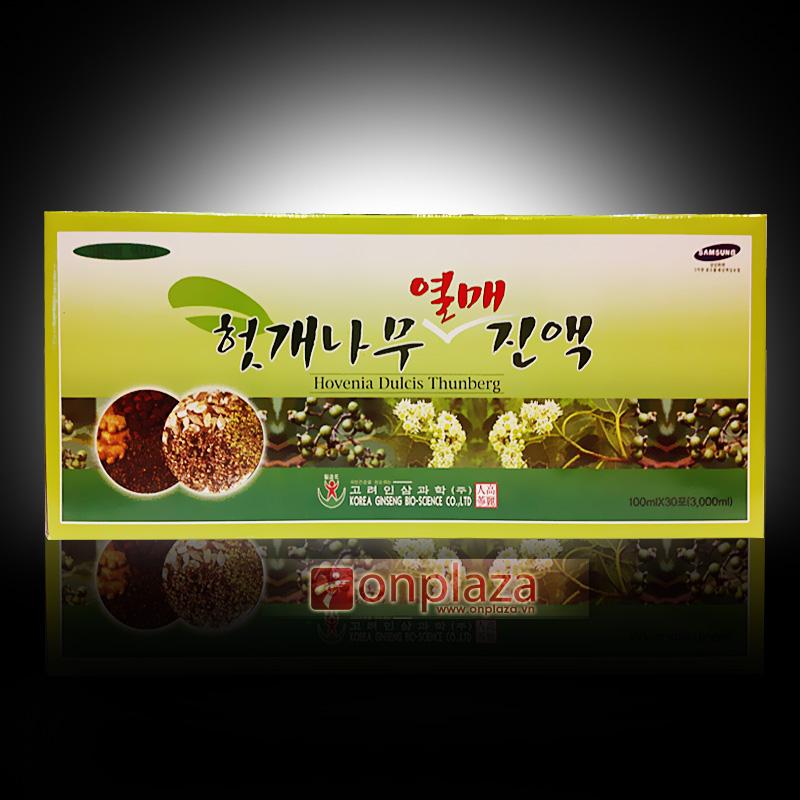 Nước uống bổ gan thải độc Hàn Quốc Hovenia dulcis thunberg