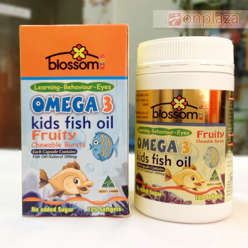 omega3 cho tre, omega3 kids