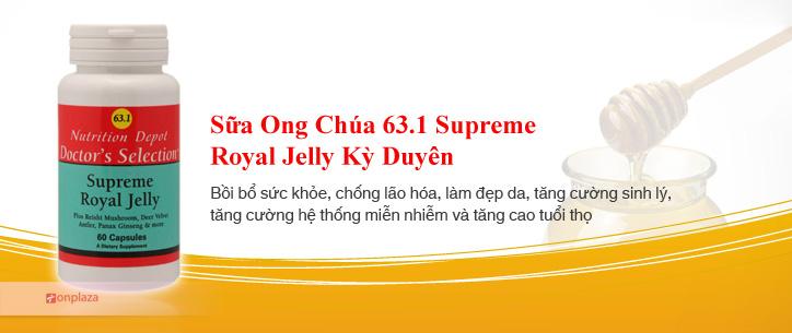 sua ong chua 63.1, sua ong chua my
