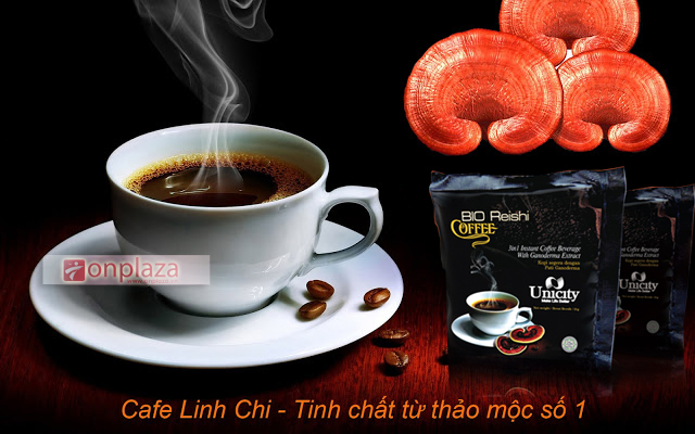 Cafe giảm cân nấm Linh chi Reishi Coffee Unicity