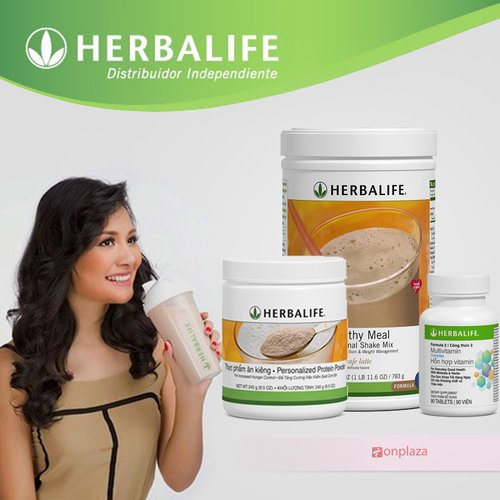thuc pham giam can herbalife