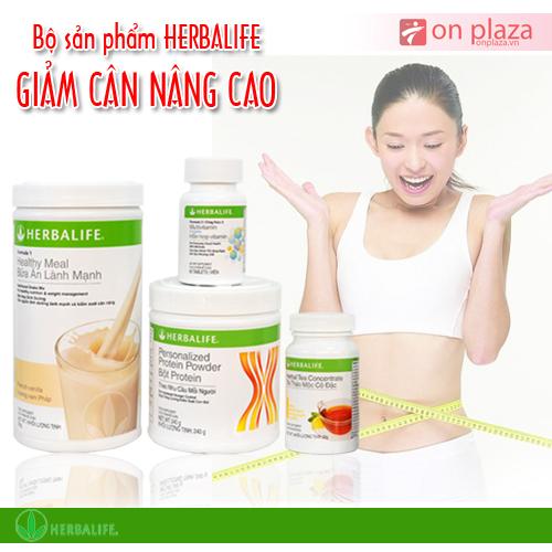 Bộ 4 Herbalife giảm cân nâng cao