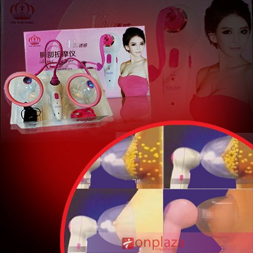 Máy mát xa hút nở ngực Hai Sun Fong Beauty Server