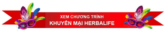 Chương trình khuyến mãi herbalife hè 2015
