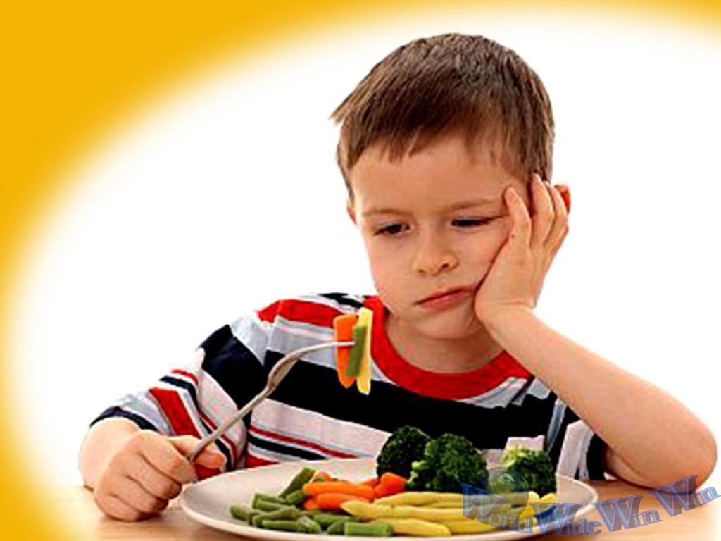 Nguyên nhân biếng ăn ở trẻ