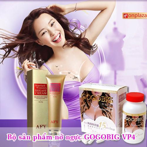 Bộ sản phẩm nở ngực gogobig Việt Pháp Vp4