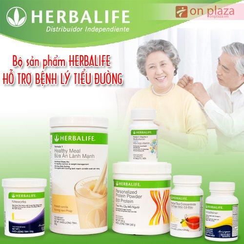 Bộ sản phẩm Herbalife tiểu đường