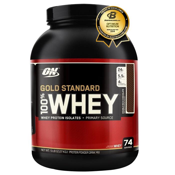 Sữa tăng cơ bắp protein 5 Lbs WHEY GOLD STANDARD
