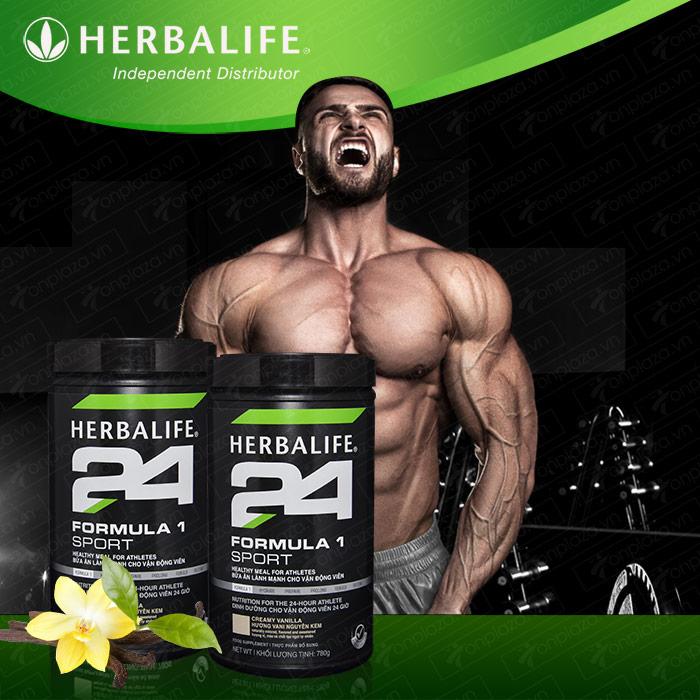 Hỗn hợp bổ sung dinh dưỡng Herbalife Sport F1 hương vani H025 1