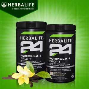 Hỗn hợp bổ sung dinh dưỡng Herbalife Sport F1 hương vani H025