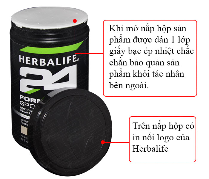 Hỗn hợp bổ sung dinh dưỡng Herbalife Sport F1 hương vani H025 8