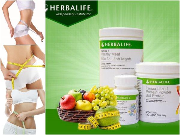 Bộ 3 giảm cân herbalife có tác dụng tốt trong việc cải thiện vóc dáng