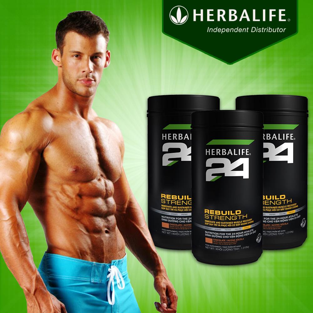 Dinh dưỡng phục hồi sau tập luyện Herbalife 24 Rebuild Trength H027 1