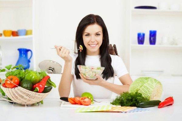 Chế độ dinh dưỡng lành mạnh giúp tăng cân nhanh chóng