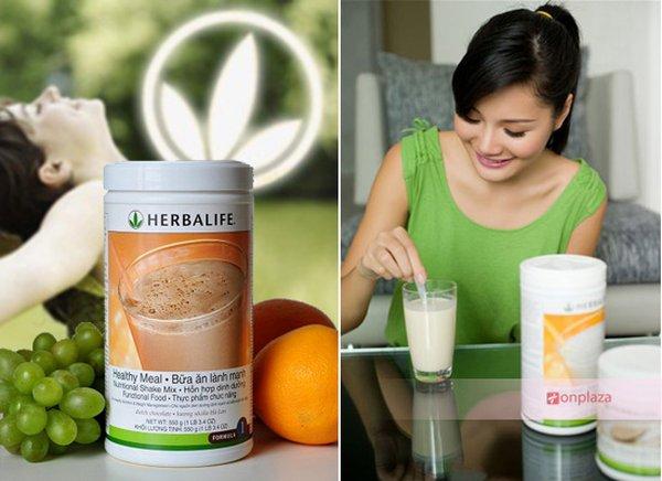 Dùng herbalife giảm cân nhanh chóng