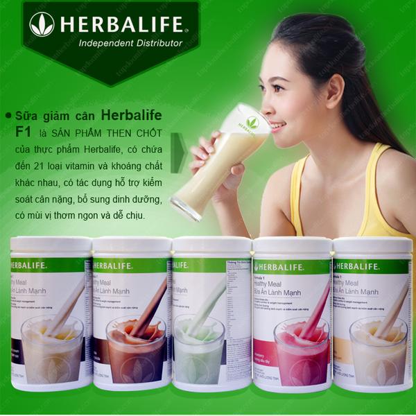 sữa herbalife công thức 1 cải thiện cơ thể toàn diện