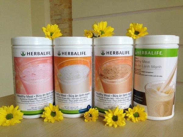 Herbalife f1 được sử dụng rộng rãi trên thị trường