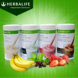 Sử dụng herbalife công thức 1 tăng cường chức năng cơ thể