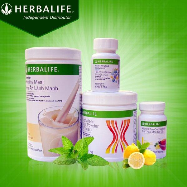 : Bộ sản phẩm tăng cân Herbalife được chiết xuất từ các nguồn dinh dưỡng thiên nhiên