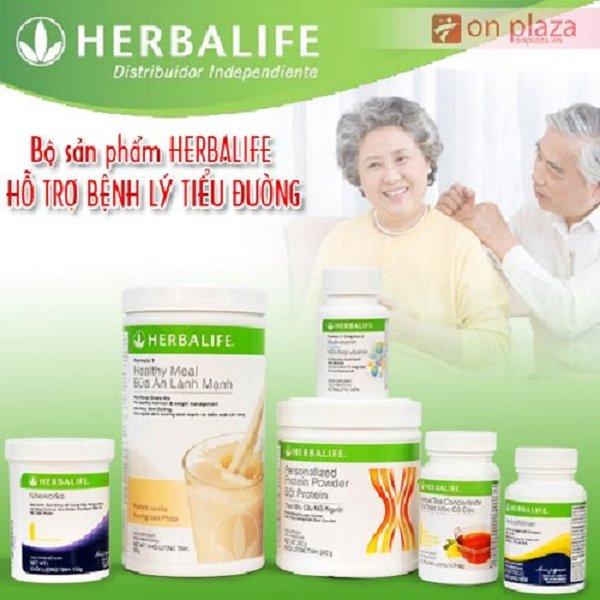Bộ Herbalife tiểu đường có thể hỗ trợ tốt cho bệnh nhân