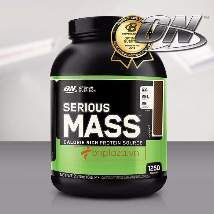 Serious mass cho hiệu quả tăng cân rất tích cực