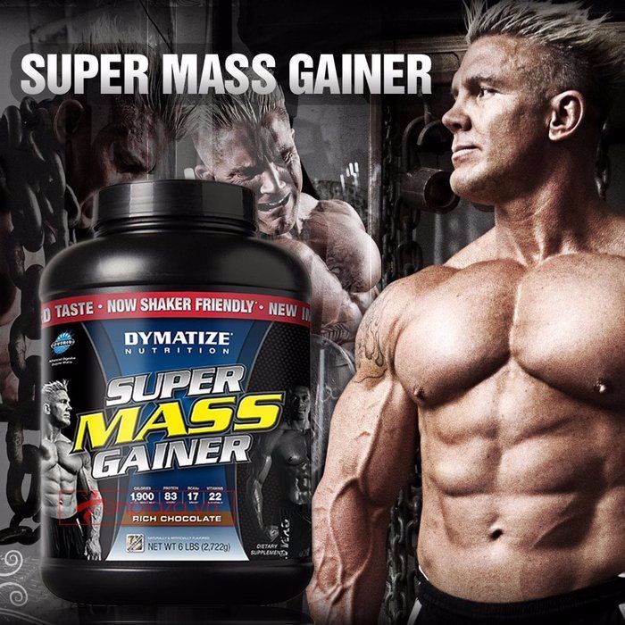 Super mass gainer được nhiều người tập thể hình lựa chọn