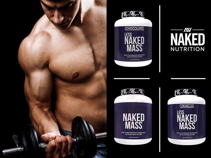 Naked mass tăng cân nhanh chóng và tối đa