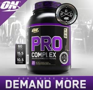 Pro Complex được đánh giá cao trong phân khúc sữa tăng cân